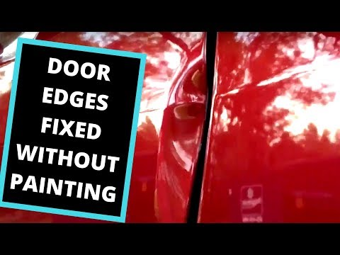 Paintless Dent Removal With Brice Kelly (DENTS ON EDGES / DOUBLE METAL)