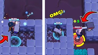 *LOW IQ* UNLUCKIEST Player Ever in Brawl Stars | Funny Moments, Glitches & Fails #129