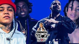 French Plug Show : Kodak veut coucher avec Young Ma - Drake invite Kalash et Hamza sur scene