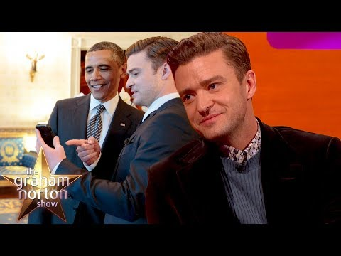Barack Obama Didn't Believe Justin Timberlake Made A Half Court Shot | The Graham Norton Show