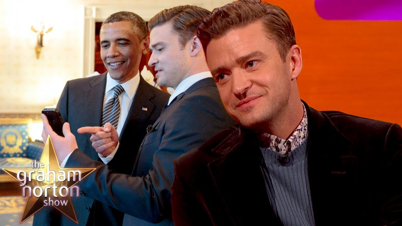 Barack Obama Didn't Believe Justin Timberlake Made A Half Court Shot | The Graham Norton Show