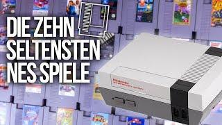 TOP 10 - Die SELTENSTEN Spiele für das NES | Nintendo Entertainment System