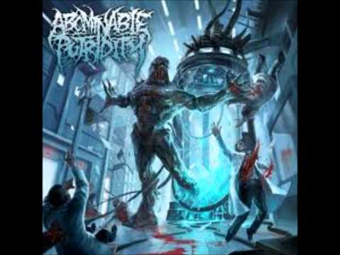 Abominable Putridity - The Anomalies of Artificial Origin (Lyrics)