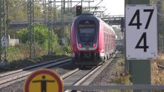 DB REGIO RB68 (15323) at Bensheim Auerbach, Germany, Oct/2018 ドイツ鉄道RB68ベンスハイム・アウアーバッハ駅