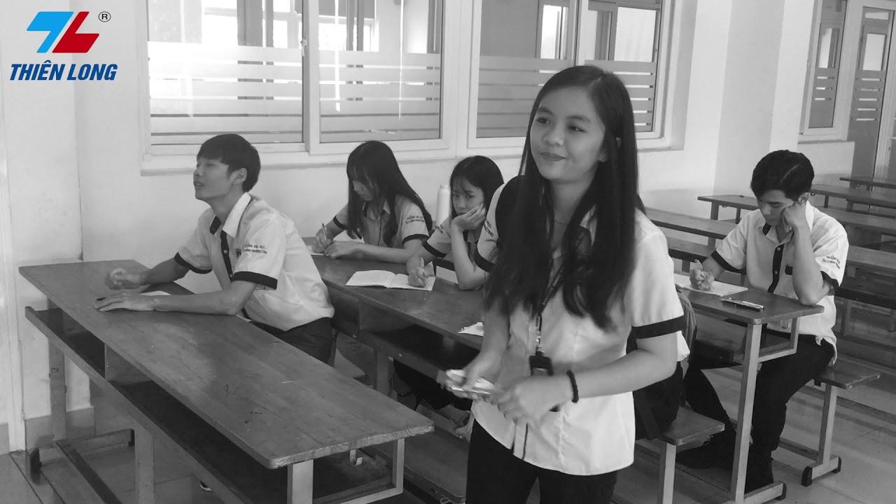 Quảng cáo bút bi Thiên Long – Nhóm 1 – Nguyên lý Marketing – Trường ĐH Tài chính – Marketing