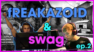 fREAKAZOID & swag #2: Playing Pros for $$$ [Color SubZ]