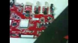 azbox thunder conserto capacitor estourado fonte variando !!!!!