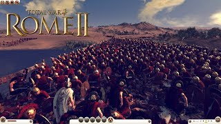 Rome Total War 2 Massive Battles - 300 Spartans vs 10,000 Melee Infantry [Ultra/1080p]