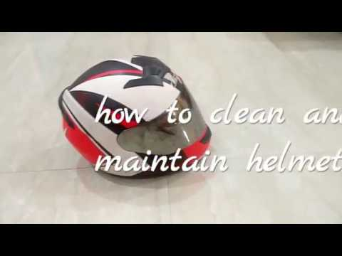 how to maintain and clean helmet and visor full procedure  LS-2