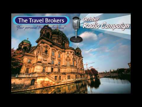 The Travel Brokers October Radio Campaign