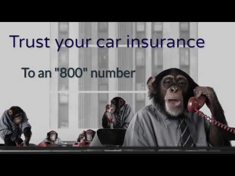 Why settle for an 800 number for Car insurance?