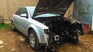 Audi A4/ что делать если не повезло..