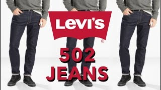 Levi's Fits Explained - 502 Regular Tapered Jeans