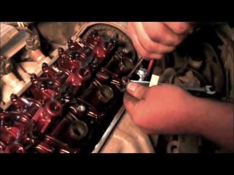 honda valve adjustment youtube