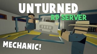 Video Unturned RP Server | Becoming A Mechanic! (Mechanic Roleplay) download MP3, 3GP, MP4, WEBM, AVI, FLV Januari 2018
