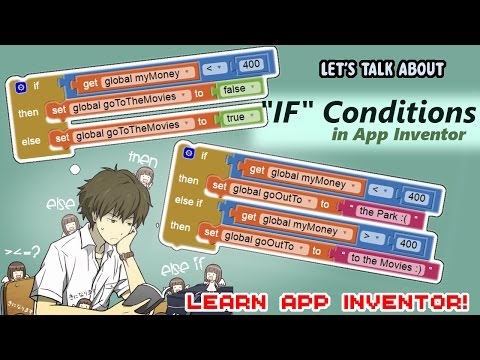 Learn App Inventor: Conditions If,else  and Else if | making a simple Dice