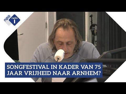 Marcel van Roosmalen over het Songfestival in Arnhem   NPO Radio 1