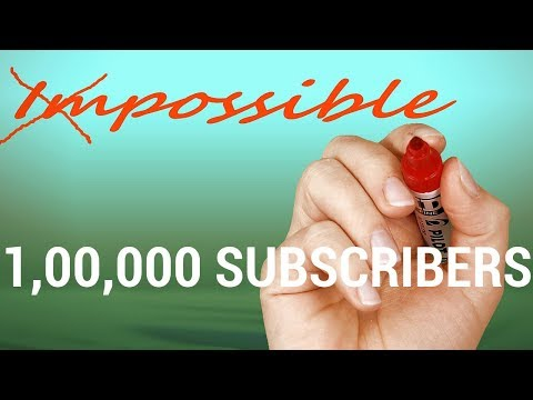 🔴 100000 Subscribers | Thanks a lot | YouTube LIVE Streaming and Q&A | Hindi