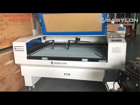 Máy khắc laser 1390 Cắt Mica Cực Đỉnh   BABYLON CNC