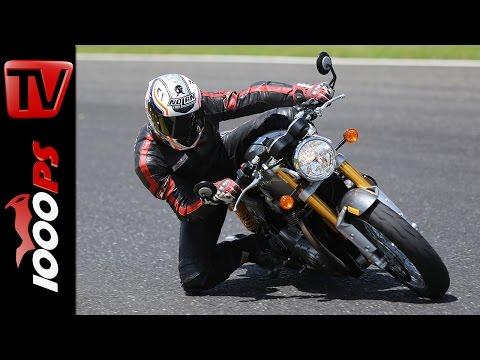 Triumph Thruxton R - 2016  Rennstrecken Test | Pannoniaring