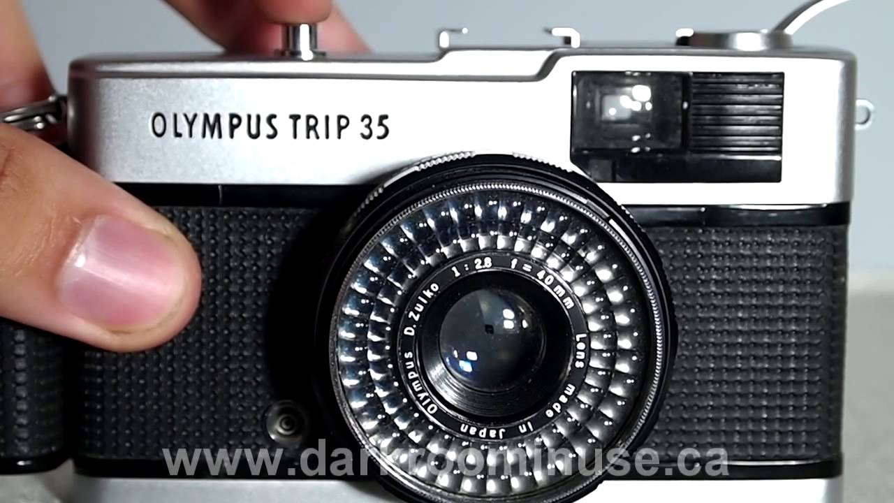 olympus trip 35 camera walkthrough youtube rh youtube com Olympus 35Rc Olympus PEN E-PL2