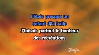 Karaoké Le temps de la rengaine - Serge Lama *