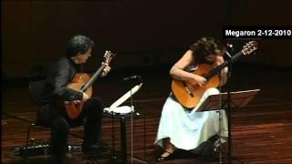Boudounis Angelica -ATHENS MEGARON - Classical Guitars Live - Evangelos Boudounis - Maro Razi