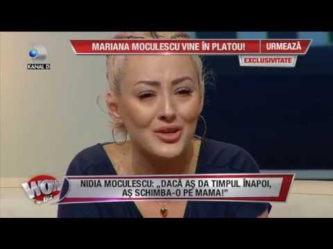 """WOWBIZ (11.07.2018) - Nidia Moculescu, in lacrimi: """"Viata mea a fost un mare chin!"""" Partea 2"""