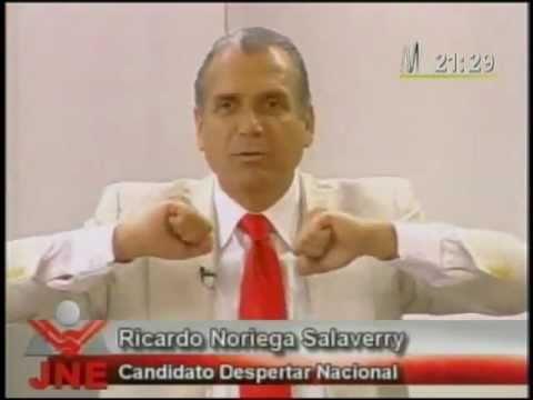 Dr. Ricardo Noriega Salaverry: Discurso completo en el Debate Presidencial