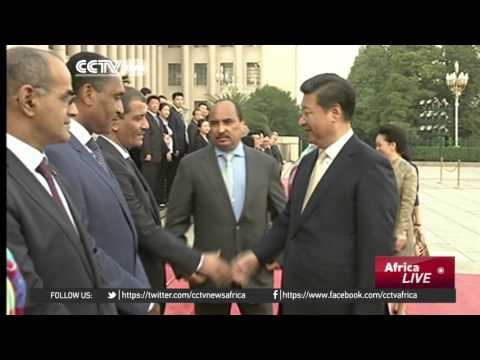Xi Jinping meets with Mauritanian President Abdel Aziz