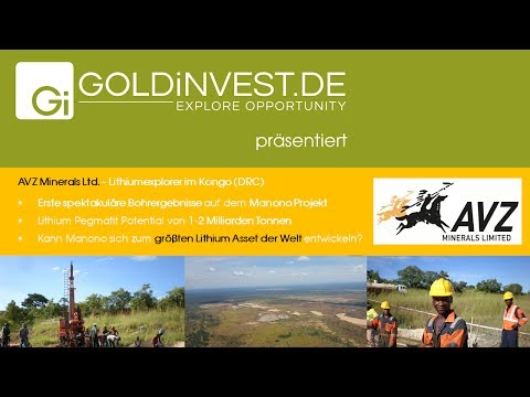 Interview AVZ Minerals Chairman Klaus Eckhof July 2017