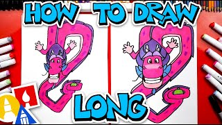 How To Draw Long From Wish Dragon