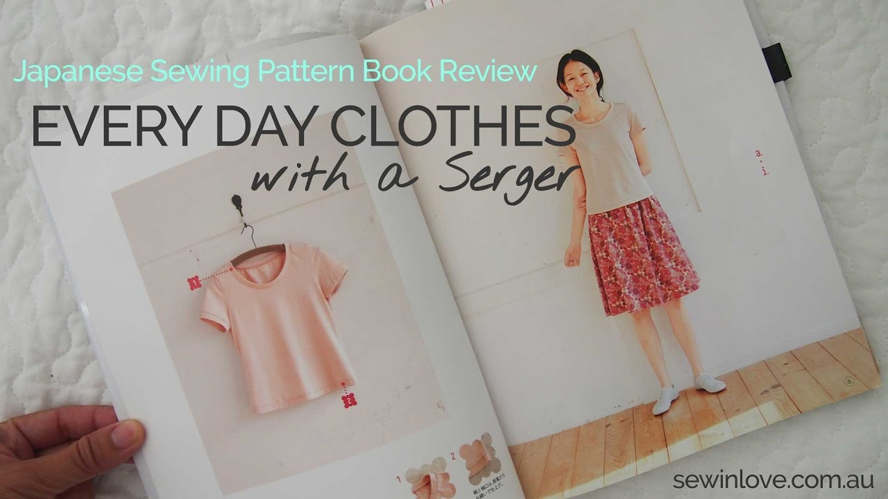Sewing Pattern Book