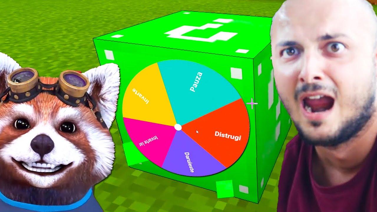 ROATA LUCKY BLOCK In Minecraft Cu Costin! *JOC NOU*