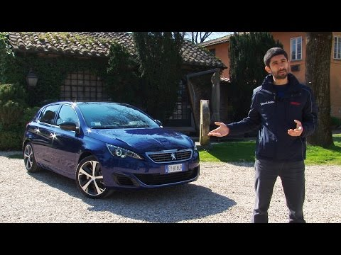 "Peugeot 308 GT (1.6 turbo 205 CV) | Chi si ""accontenta"" gode"