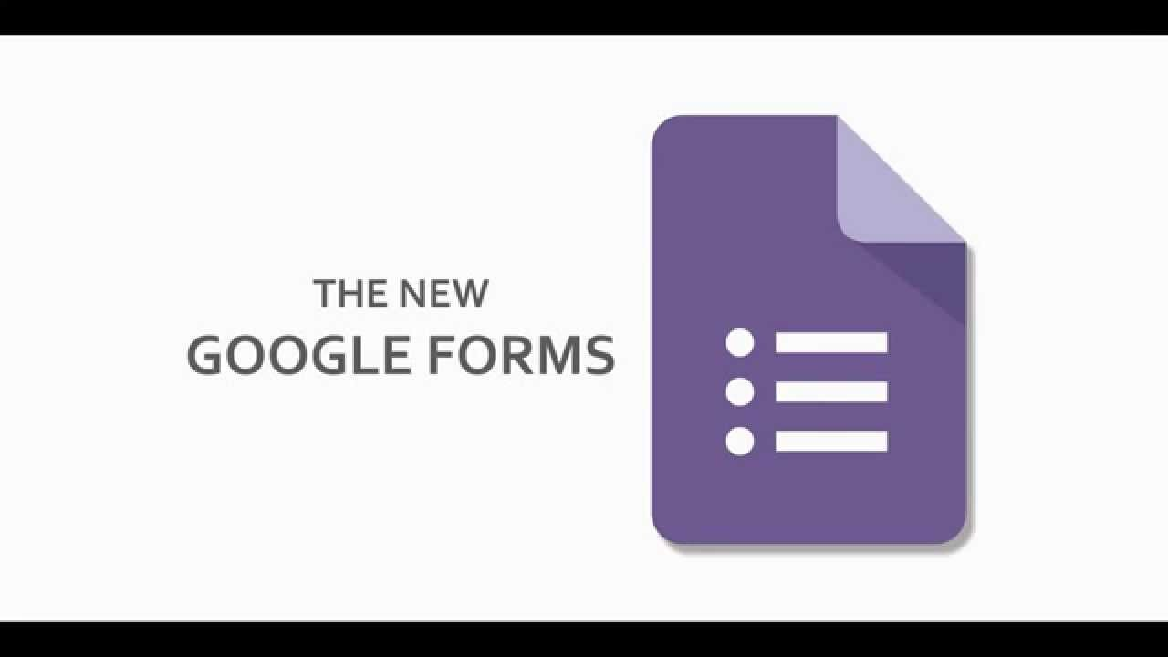 How to Use the New Google Forms - YouTube