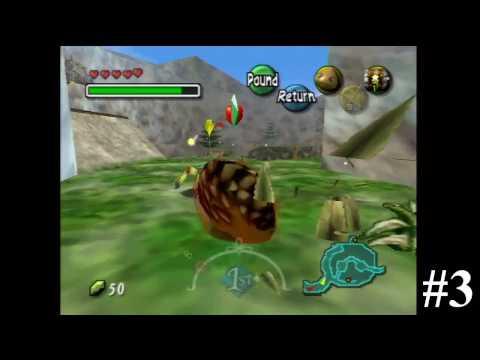 All Empty Bottle Locations (N64 Version) - The Legend of Zelda: Majora's Mask Walkthrough