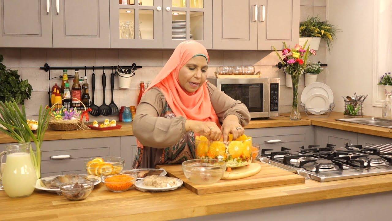 طبق شم النسيم و طبق ترمس شم النسيم مع ابله منال في الاكل البيتي (الجزء الاول)