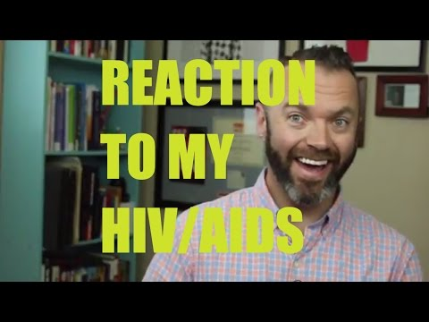 How people react to my HIV/AIDS diagnosis