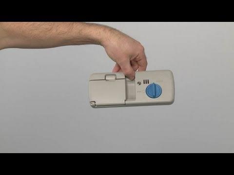kitchen aide dishwasher countertop tile kitchenaid detergent dispenser #w10616003 - youtube