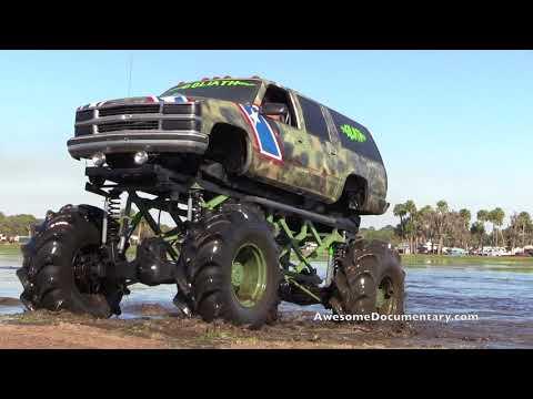 Mud Donk - Mud Trucks Gone Wild 2018 Okeechobee Mudding