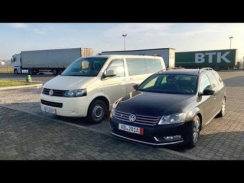VW Passat B7 из Германии и VW T5 после Такси пробег 478000 км