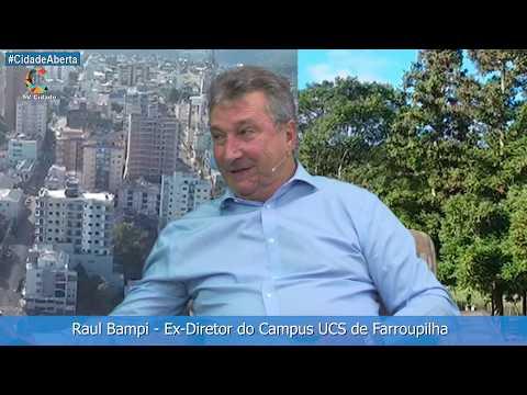 Raul Bampi - Ex-Diretor do Campus Farroupilha
