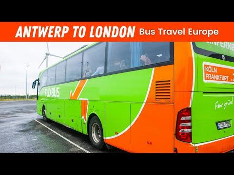 EP #77 | FLIXBUS ANTWERP TO LONDON, UK // TRAVEL VLOG!