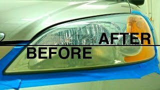 How to Fix Foggy Headlights: 3 Different Methods: Honda Civic