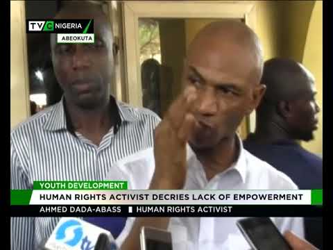 Youth Devt: Human Right activist decries lack of empowerment