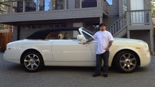 Lake Tahoe in a Rolls Royce Phantom Drophead v12
