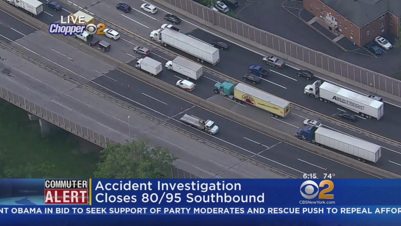Crash Investigation Closes 80/95 Southbound