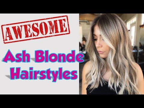 top-ash-blonde-hairstyles-for-women-2018-/-2019
