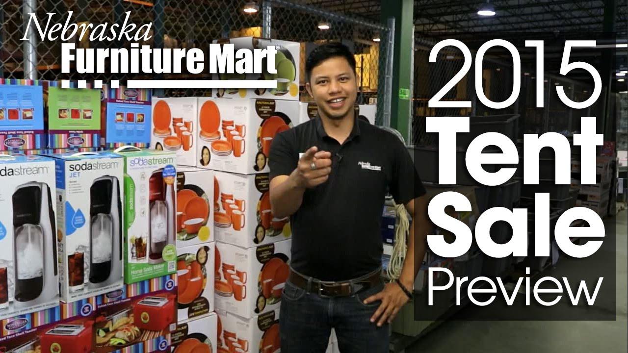 2015 Tent Sale Preview Nebraska Furniture Mart